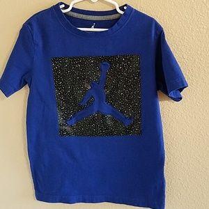 db93895bb93abf Jordan Shirts   Tops - Jordan Royal Blue Boys T Shirt Size Small 🎉 HP